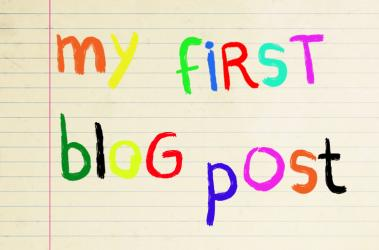 My first little blog