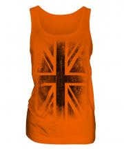 Union Jack Faded Print Ladies Vest
