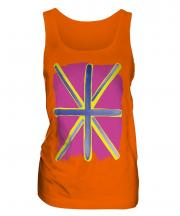 Pop Art Union Jack Ladies Vest