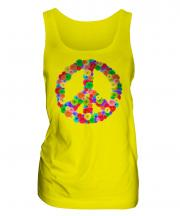 Flower Power Ladies Vest