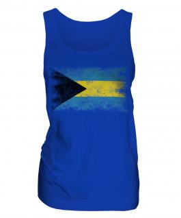 Bahamas Distressed Flag Ladies Vest