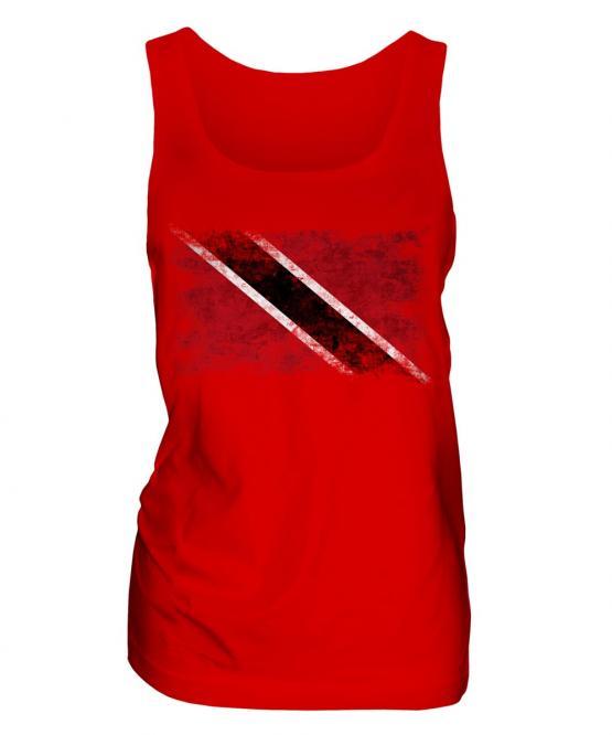 Trinidad And Tobago Distressed Flag Ladies Vest