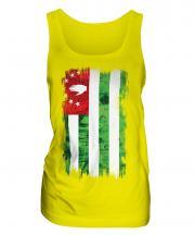 Abkhazia Grunge Flag Ladies Vest