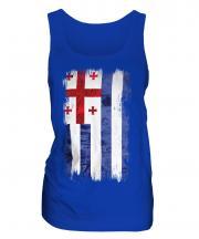 Ajaria Grunge Flag Ladies Vest