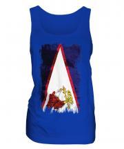 American Samoa Grunge Flag Ladies Vest