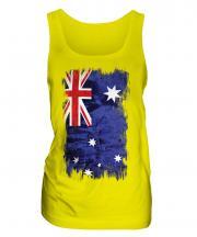 Australia Grunge Flag Ladies Vest
