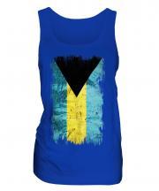 Bahamas Grunge Flag Ladies Vest