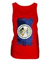 Belize Grunge Flag Ladies Vest