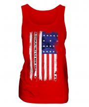 Bikini Atoll Grunge Flag Ladies Vest