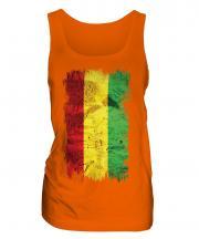 Bolivia Grunge Flag Ladies Vest