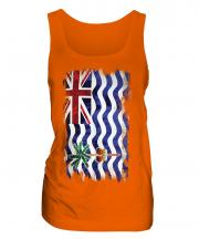 British Indian Ocean Territory Grunge Flag Ladies Vest