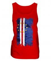 Cape Verde Grunge Flag Ladies Vest
