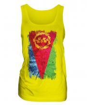 Eritrea Grunge Flag Ladies Vest