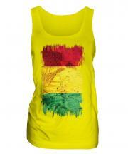 Guinea Grunge Flag Ladies Vest