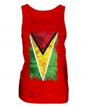 Guyana Grunge Flag Ladies Vest