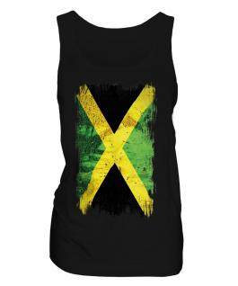 Jamaica Grunge Flag Ladies Vest