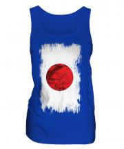 Japan Grunge Flag Ladies Vest
