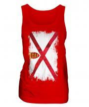 Jersey Grunge Flag Ladies Vest