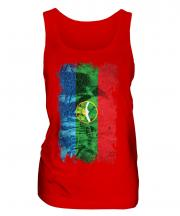 Karachay-Cherkessia Grunge Flag Ladies Vest