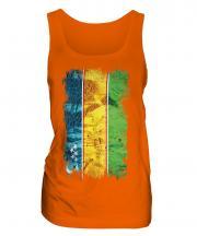 Karakalpakstan Grunge Flag Ladies Vest