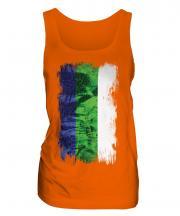 Komi Grunge Flag Ladies Vest