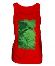 Ladonia Grunge Flag Ladies Vest
