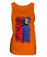 Liechtenstein Grunge Flag Ladies Vest