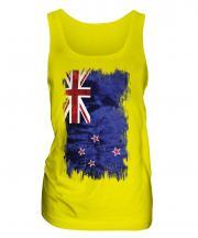 New Zealand Grunge Flag Ladies Vest