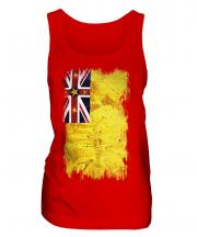Niue Grunge Flag Ladies Vest