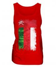 Oman Grunge Flag Ladies Vest