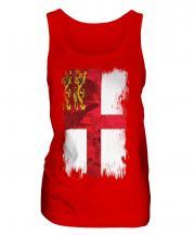 Sark Grunge Flag Ladies Vest