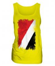 Sealand Grunge Flag Ladies Vest