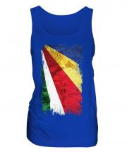 Seychelles Grunge Flag Ladies Vest