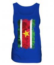 Suriname Grunge Flag Ladies Vest