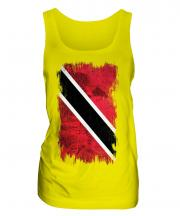 Trinidad And Tobago Grunge Flag Ladies Vest