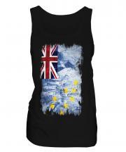 Tuvalu Grunge Flag Ladies Vest