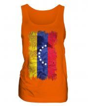 Venezuela Grunge Flag Ladies Vest
