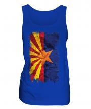 Arizona State Grunge Flag Ladies Vest
