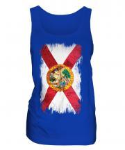 Florida State Grunge Flag Ladies Vest