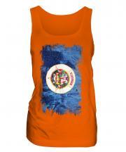 Minnesota State Grunge Flag Ladies Vest