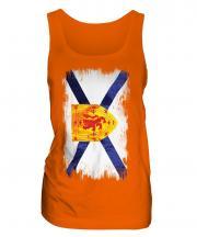 Nova Scotia Grunge Flag Ladies Vest