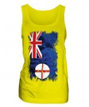 New South Wales Grunge Flag Ladies Vest