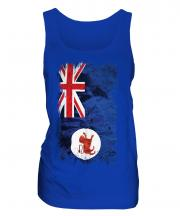 Tasmania Grunge Flag Ladies Vest
