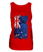 Victoria Grunge Flag Ladies Vest