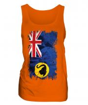 Western Australia Grunge Flag Ladies Vest