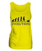 Irish Water Spaniel Evolution Ladies Vest
