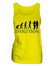 Salsa Dancing Evolution Ladies Vest