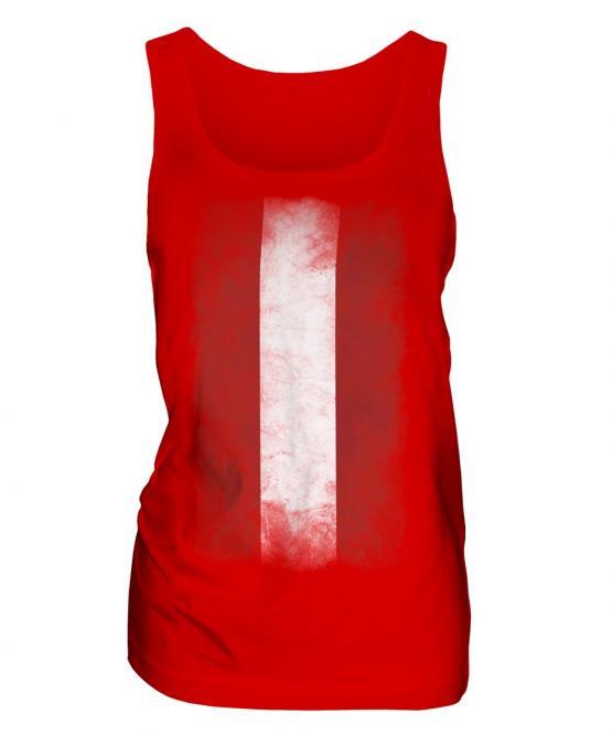 Austria Faded Flag Ladies Vest