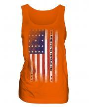Bikini Atoll Faded Flag Ladies Vest