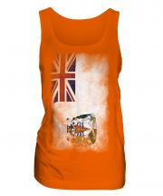 British Antartic Territory Faded Flag Ladies Vest